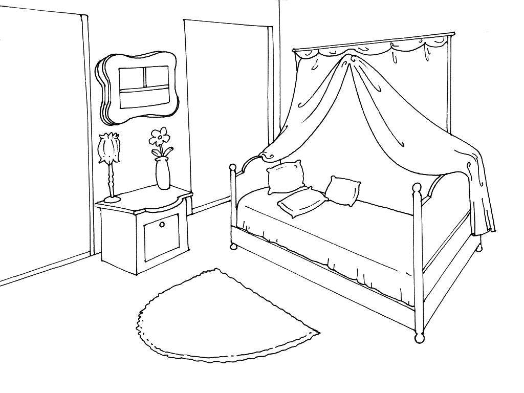 Une Chambre Dessin