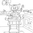 Coloriage Cuisine 16