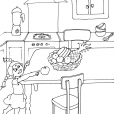 Coloriage Cuisine 20