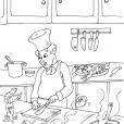 Coloriage Cuisine 23
