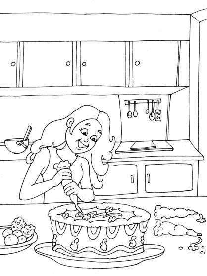 Coloriage Cuisine 26