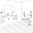 Coloriage Toilette 10