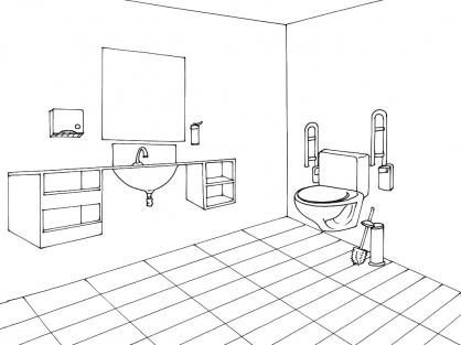 Coloriage Toilette 10