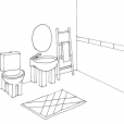 Coloriage Toilette 15
