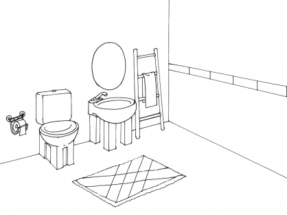 Coloriage Toilette 15