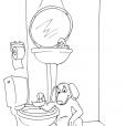 Coloriage Toilette 20