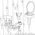 Coloriage Toilette 21