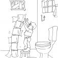 Coloriage Toilette 23