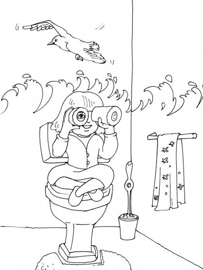 Coloriage Toilette 24