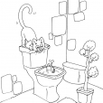 Coloriage Toilette 26