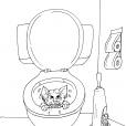 Coloriage Toilette 28