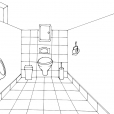 Coloriage Toilette 3