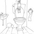 Coloriage Toilette 30