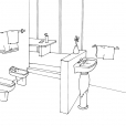 Coloriage Toilette 5