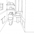 Coloriage Toilette 9