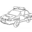 Coloriage Accessoire policier 2