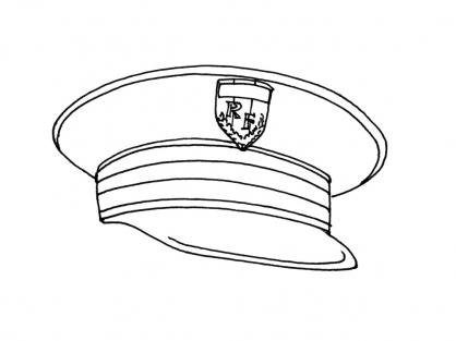 Coloriage Accessoire policier 3