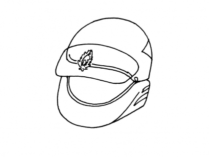 Coloriage Accessoire policier 6