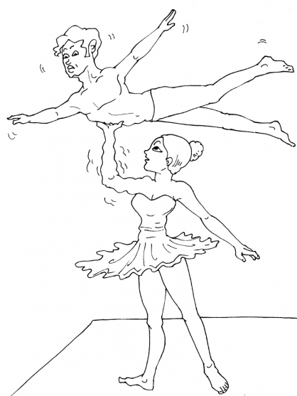 Coloriage danseuse 16 coloriage danseuses coloriage - Danseuse coloriage ...