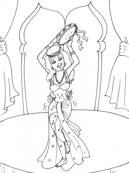 Coloriage danseuse 23 coloriage danseuses coloriage - Danseuse coloriage ...