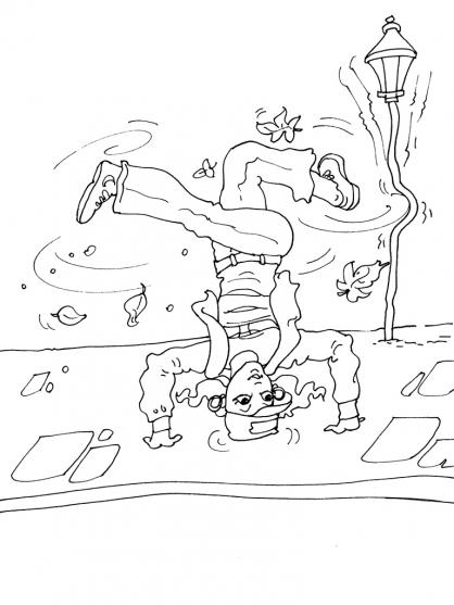 Coloriage Danseuse 25