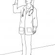 Coloriage Docteur 7