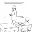 Coloriage Ecole 11