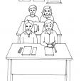 Coloriage Ecole 8