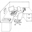 Coloriage Informatique 12