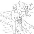 Coloriage Jardinier 12