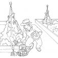 Coloriage Jardinier 13