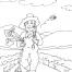 Coloriage Jardinier 27