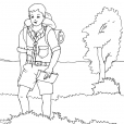 Coloriage Scout 1