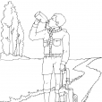 Coloriage Scout 12
