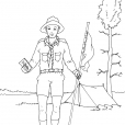 Coloriage Scout 2