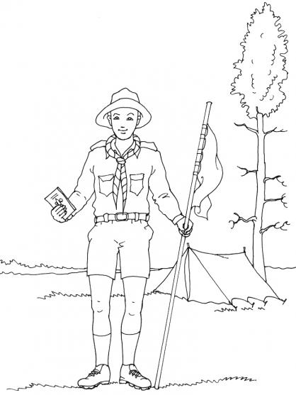 Coloriage Scout 2
