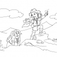 Coloriage Scout 21