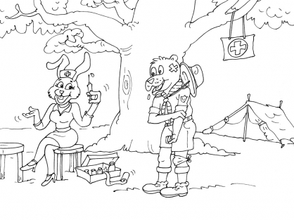 Coloriage Scout 24