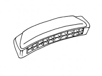 Coloriage L'harmonica