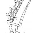 Coloriage L'orgue