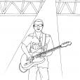 Coloriage Musique 10