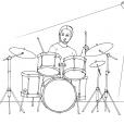 Coloriage Musique 2