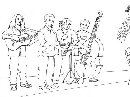 Coloriage musique 6 coloriage musique coloriage musiques - Musique coloriage ...