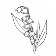 Coloriage Fleur 15