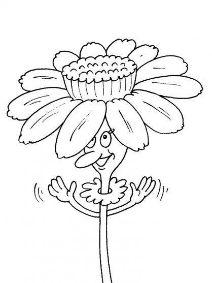 Coloriage Fleur 17