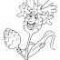 Coloriage Fleur 26