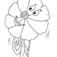 Coloriage Fleur 31