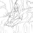 Coloriage Montagne 10