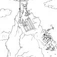 Coloriage Montagne 29