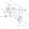 Coloriage Ski 4